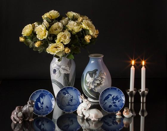 Royal Copenhagen mother's day plates