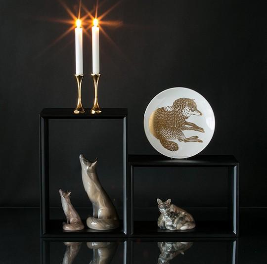 Gustavsberg Plates - endangered animals