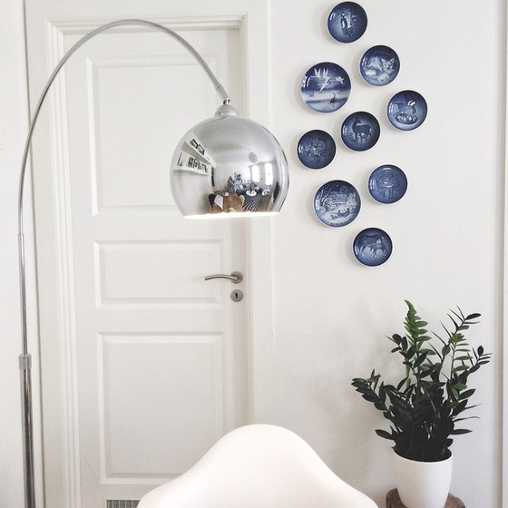 Ideas for wall decorations with plates