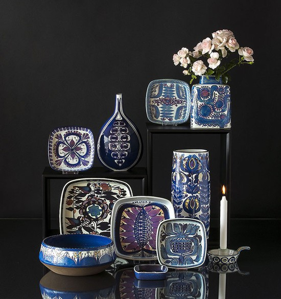 Royal Copenhagen dishes and bowls in Faience