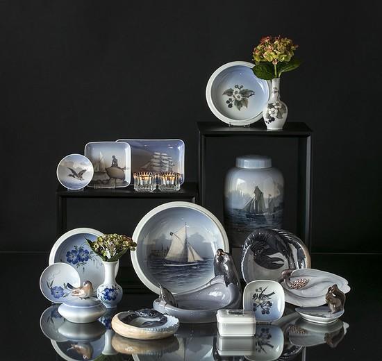 Royal Copenhagen Porcelain Dishes