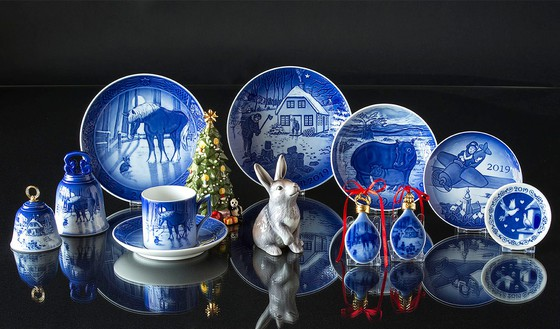 Collectibles of the year 2019 from Royal Copenhagen and Bing & Grondahl.