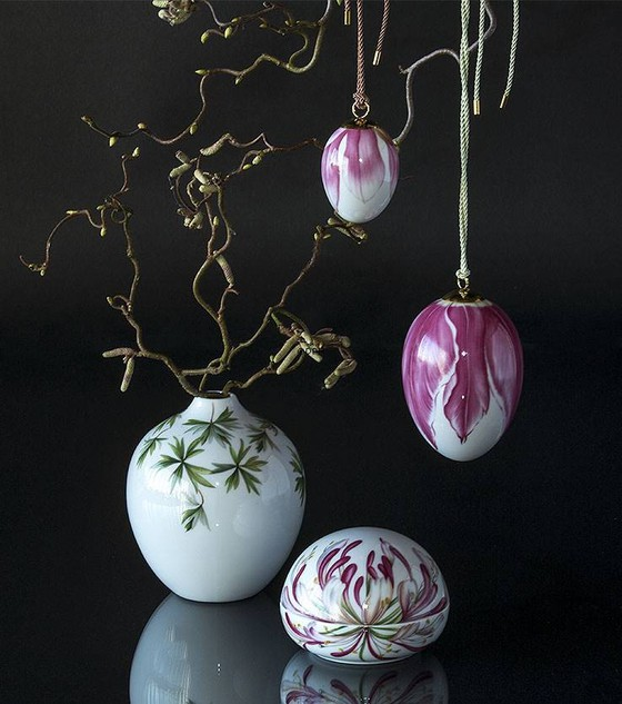 Annual Easter eggs from Royal Copenhagen
