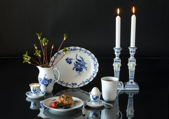Egg cups for the blue painted dinnerware like Blue flower and Blue Fluted