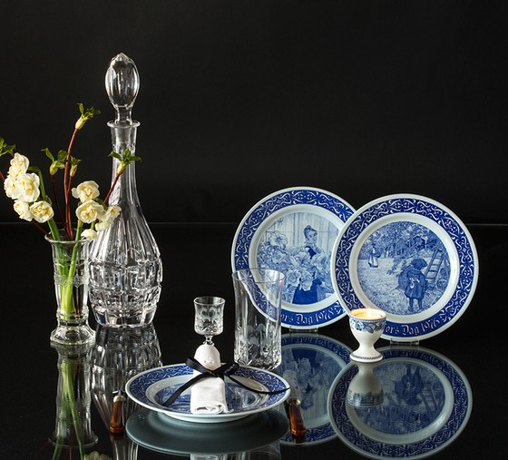 Rorstand Carl Larsen Mother's day plates